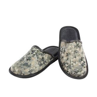 Men's slippers  Gray camo