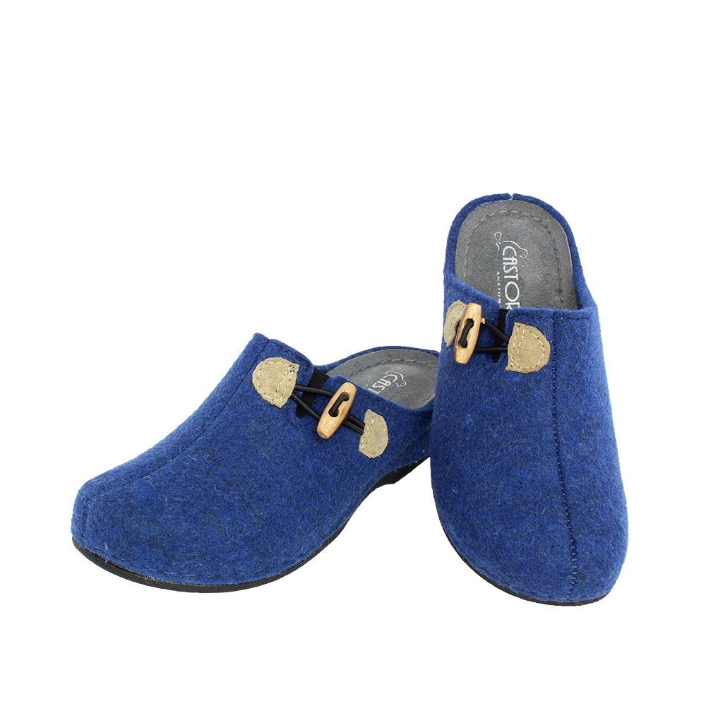 Γυναικείες παντόφλες Λωτός μπλε χρώμα