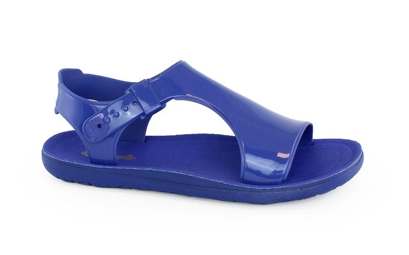 Women's sandals Begonia blue color