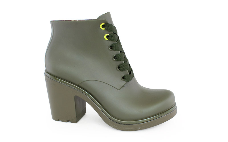 Γυναικεία μποτάκια Ale πράσινο χρώμα
