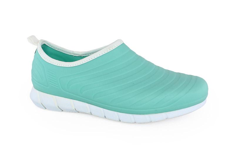 Γυναικεία παπούτσια εργασίας Oxy σιέλ χρώμα