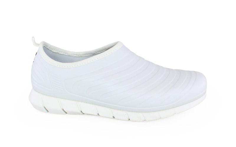 Γυναικεία παπούτσια εργασίας Oxy λευκό χρώμα