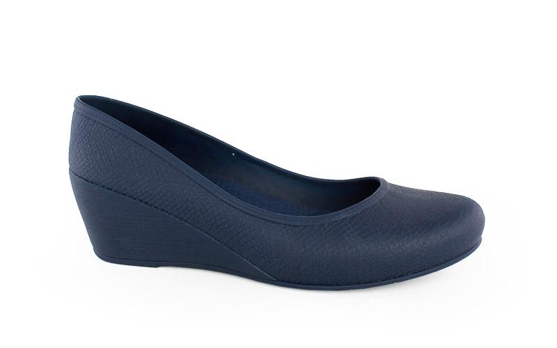 Γυναικεία παπούτσια εργασίας Caren μπλε χρώμα