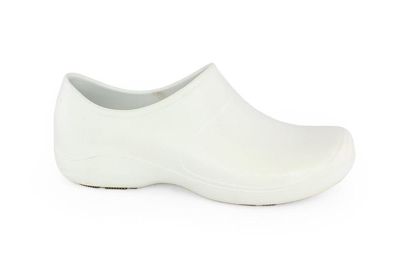 Γυναικεία παπούτσια εργασίας Mary λευκό χρώμα