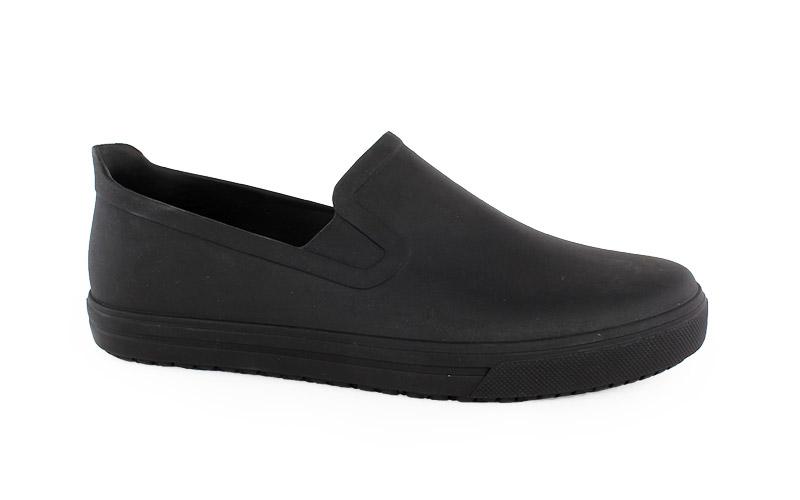 Ανδρικά παπούτσια εργασίας Job μαύρο χρώμα