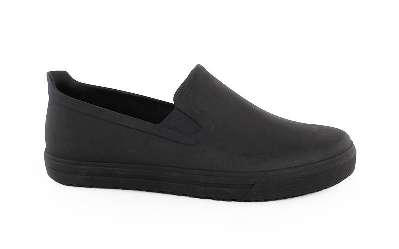 Γυναικεία παπούτσια εργασίας Spencer μαύρο χρώμα