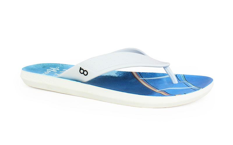 Ανδρικές σαγιονάρες Keep Walking λευκό χρώμα