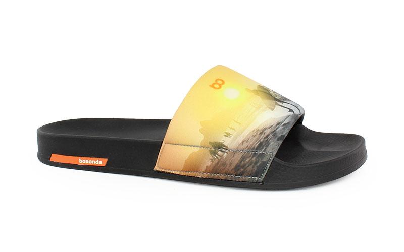 Ανδρικές παντόφλες Surf μαύρο χρώμα