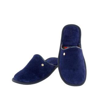 Ανδρικές καστόρινες παντόφλες 4610.Κ Ιων μπλε