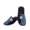 Γυναικείες παντόφλες 5503 Γλαδιόλα μπλε