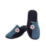 Γυναικείες παντόφλες 5503 Γλαδιόλα μπλε χρώμα