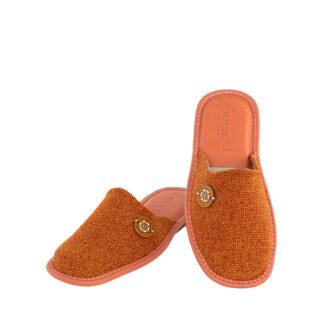Γυναικείες παντόφλες 5505 Ανεμώνη πορτοκαλί