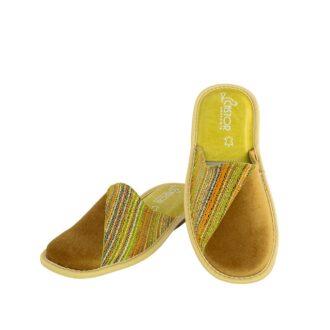 Γυναικείες παντόφλες 5509 Καμέλια κίτρινο