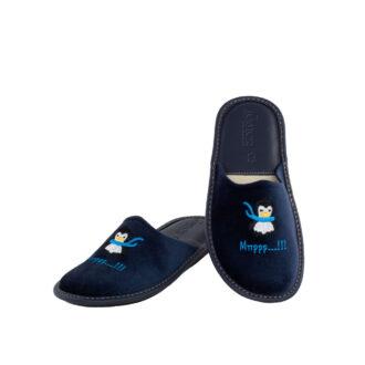 Γυναικείες παντόφλες 5656 Μύρτιλος μπλε